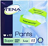 Tena - Pants, Pannoloni per Adulti, Super Large, 12 pezzi