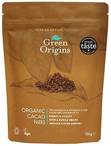 Green Origins Bio-Rohkost-Kakaonibs, 1er Pack (1 x 150 g)