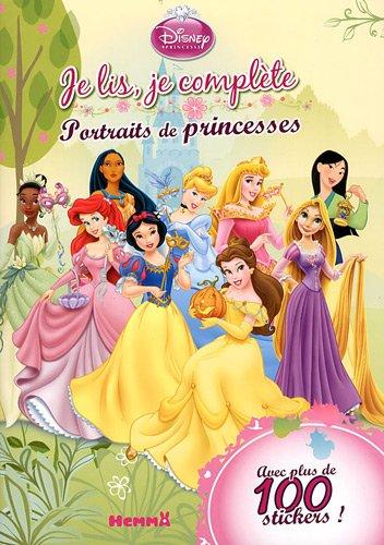 Je lis, je complète : Portraits de princesses