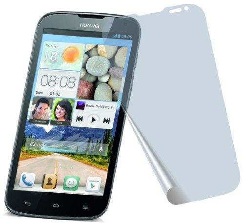 4X Huawei Ascend G610 ENTSPIEGELNDE Premium Bildschirmschutzfolie Displayschutzfolie Schutzhülle Bildschirmschutz Bildschirmfolie Folie