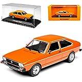 alles-meine.de GmbH VW Volkswagen Passat B1 Orange 2 Türer Schrägheck 1973-1980 1/43 Minichamps Maxichamps Modell Auto