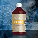The Bros Premium E-Liquid Basis 1000 ml ohne Nikotin, Base:50% PG/50% VG