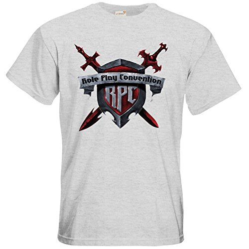 getshirts - RPC Germany Official Merchandise - T-Shirt - RPC Logo 2016 Ash