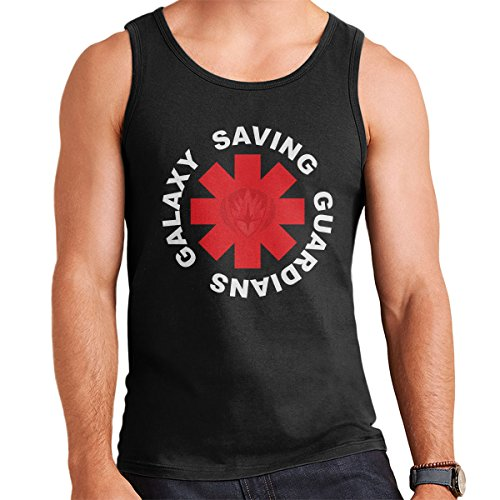 Guardians Of The Galaxy Red Hot Chili Peppers Men's Vest Black