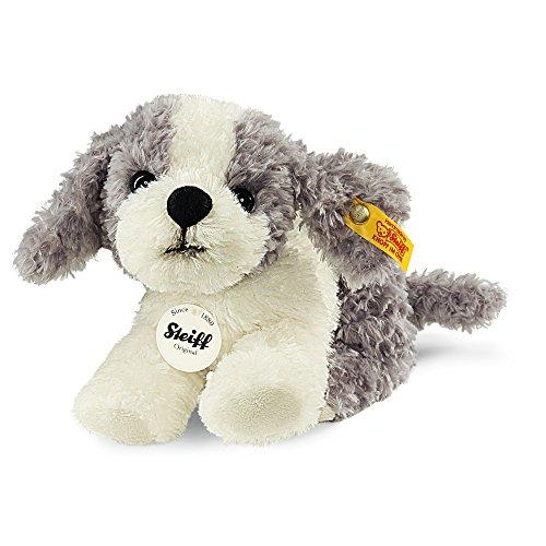 Steiff 83532 - Tommy Huendchen 17, grau/weiß - Hund Füllung-plüsch Spielzeug Keine