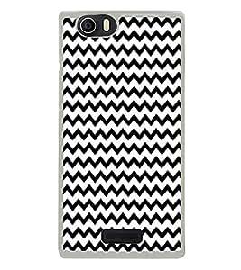 ifasho Designer Phone Back Case Cover Micromax Canvas Nitro 2 E311 ( Light Brown Colorful Pattern Design )