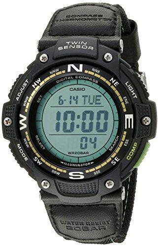 Casio SGW-100B-3A2CF Twin Sensor Digital Watch For Unisex