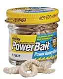 Berkley Powerbait Power Honey Worms Garlic Knoblauch, Farbe:weiß