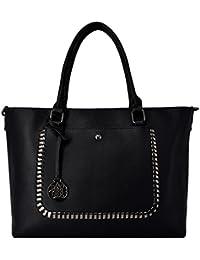 CRAZYCHIC - Bolso de Mano Mujer Grande - Bolso Tote Shopper Bag Cuero de la PU