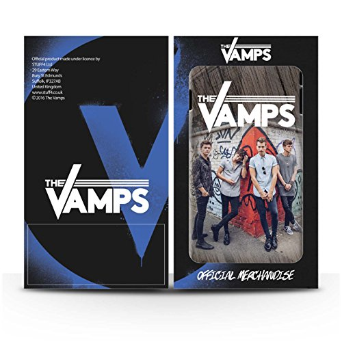 Officiel The Vamps Coque / Clipser Brillant Etui pour Apple iPhone 6+/Plus 5.5 / Pack 6pcs Design / The Vamps Séance Photo Collection Effet Bois
