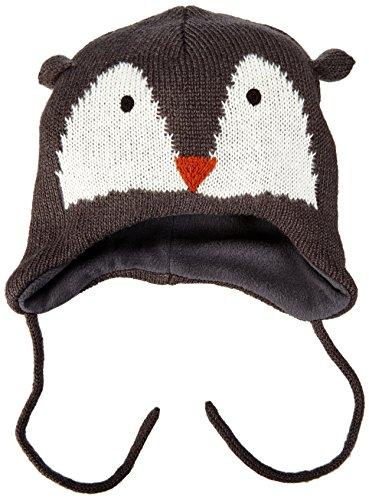 Name It - Nitmacule M Knit Hat Box 415, Berretto per bambini e ragazzi, multicolore (asphalt), unica (Taglia produttore: 48/49/1-2 anni)