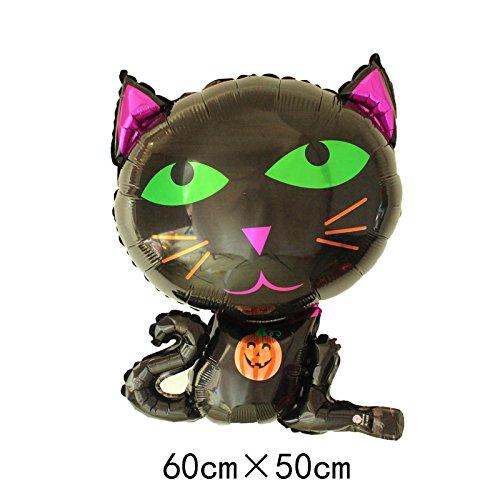 Lanlan Creative Multi Form Halloween Ballon für Kinder spielen Aluminium Film Weihnachten Halloween Dekoration - Spiele Ballon Halloween