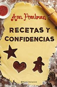 Recetas y confidencias par Ann Pearlman