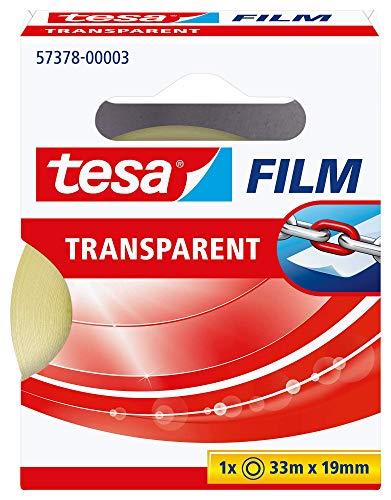 Cinta adhesiva tesafilm Transparente 19 mm x 33 m