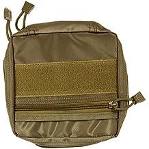 nelnissa Airsoft sistema MOLLE meitary primeros auxilios Nylon Sling bolsa, marrón