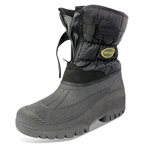 DIRT BOOT ALL WEATHER WINTER WATERPROOF SNOW MUCK FISHING YARD BOOTS (UK...