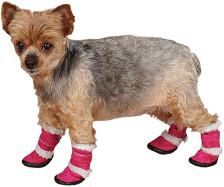 East Side Collection - Stivali per Cani Sherpa, in Poliestere, XXL, Coloreee  Lampone | Stili diversi  | Maschio/Ragazze Scarpa