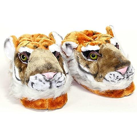 Sleeper'z - Pantofole Animali Tigre - Adulto e (Non Sleeper)
