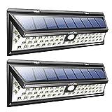 Mpow Solarleuchte Litom 【Untermarke von Mpow】2 Stück 54 LED Solarleuchte Außen Wasserdichte Solar Betriebene Lampe mit 120° Weitwinkel Bewegungs Sensor Solar für Garten, Terrasse, Wegbeleuchtung