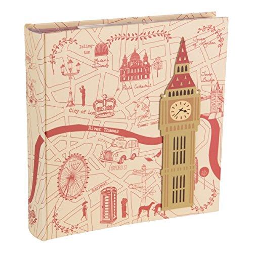 London Highlights Design Memo Foto Album zu halten 200Fotos 15,2x 10,2cm/10x 15cm–hol112