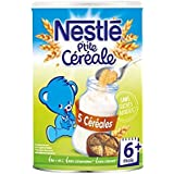 Nestlé p'tite céréale saveur 5 céréales 400g dès 6 mois - ( Prix Unitaire ) - Envoi Rapide Et Soignée