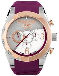 amazon co uk mulco watches mulco watch mw5 4067 113 women beige silicone multifunction