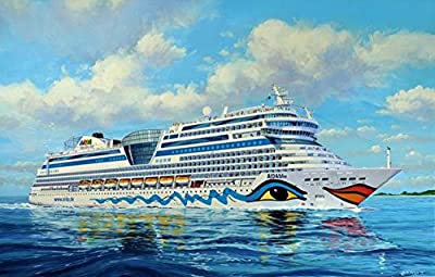 Revell Rv05230 Aida Blu Sol Mar Stella Civil Ships Kit 1:400 Modellino Model