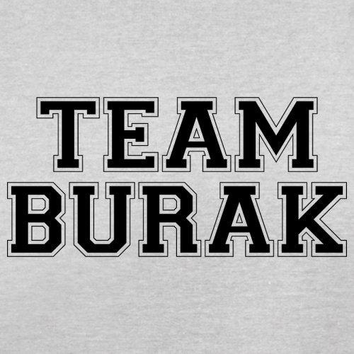 Team Burak - Herren T-Shirt - 13 Farben Hellgrau