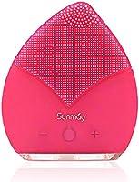 【Sunmay Leaf】SUNMAY Sonico Limpiador Facial y Masajeador, Silicona Orgánica Recargable Waterproof Masaje Facial,...