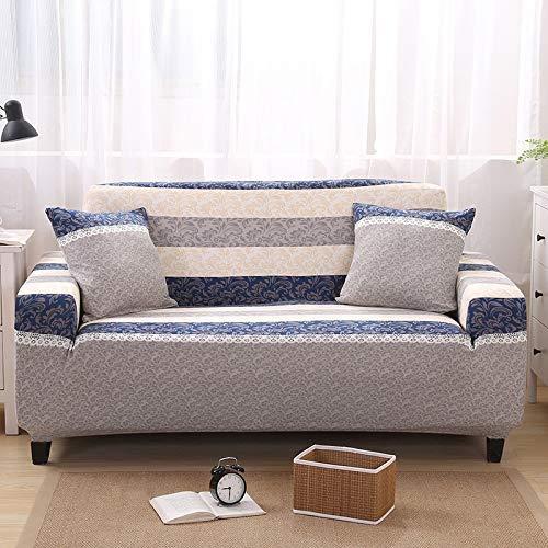 Sitz 99% Sofa 1/2/3/4 Sitzer Sofabezug Fest umwickelte elastische Schnittsitzbankbezüge mit Bezug für die Couch Schonbezüge (90-300 cm), 5894,4 Sitzer 230-300cm - 99 Sofa