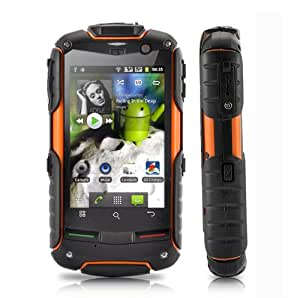 FortisX V5 - IP67 Rugged Waterproof, Dustproof, Shockproof 3G Android 2.3 outdoor Smartphone Dual SIM with 3.2 Inch Touchscreen, 5MP camera, GPS