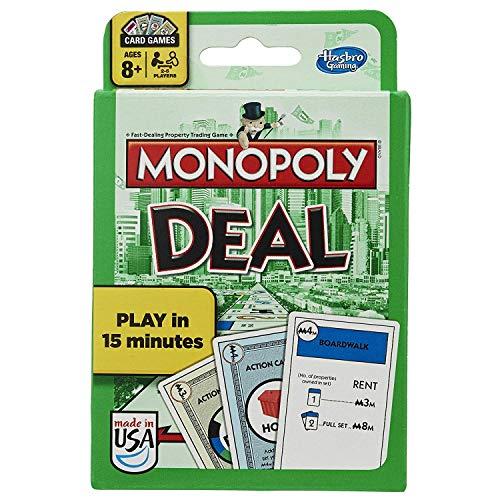 Hasbro Monopoly Kostenloses Kartenspiel