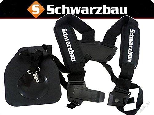 Komfort Tragegurt Doppel Schultergurt für Motorsense Freischneider Trimmer Neu Model (Model 2)