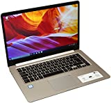 ASUS VivoBook S15 S510UA 90NB0FQ1-M04420 39,6 cm (15,6 Zoll, HD, matt) Notebook (Intel Core i5-7200U, 8GB, 256GB SSD, Intel HD Graphics, Win10) gold metall