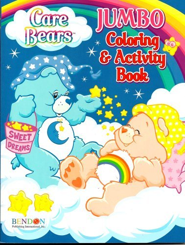 Care Bears Jumbo Coloring & Activity Book ~ Bedtime and Cheer Bear (96 Pages) by Care Bears - Jumbo Care Bears