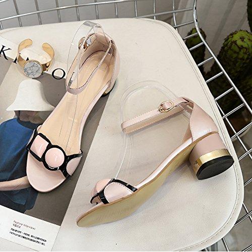 Lgk & Fa Sandales Et Chaussures Pour Femmes 35 Noir 39 Rose