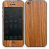 Apple iPhone 5 Case Skin Sticker aus Vinyl-Folie Aufkleber Lärchenholz Maserung Holz Look