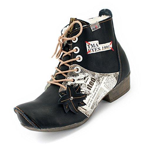 TMA Maia Winter-Stiefeletten, Schwarz - 39 (Stiefel Schuhe Designer)