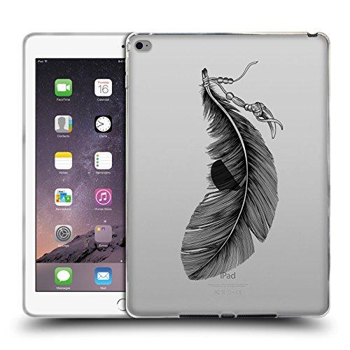 Preisvergleich Produktbild Offizielle Rachel Caldwell Gigant Federn Soft Gel Hülle für Apple iPad Air 2