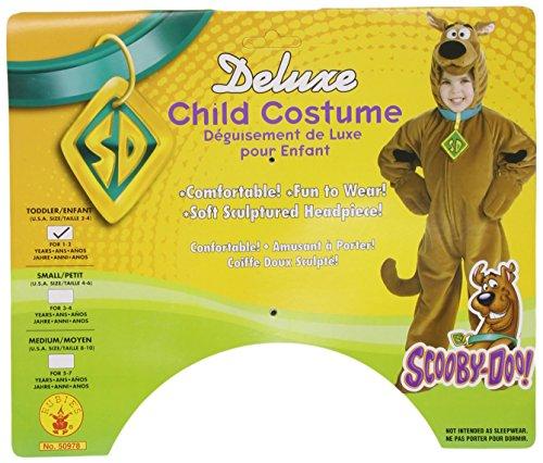 Kinder-Kostüm Scooby Doo TM Deluxe - 1-2 (Kostüme Scooby Doo Für Kinder)