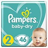 Pampers Baby Dry couches - Taille 2 (4-8 kg) - 46 couches