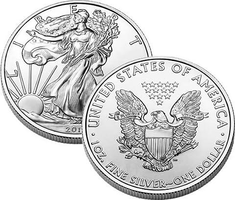 2012American Unzen Silber Eagle Dollar Münze