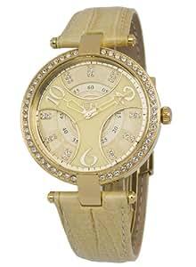 Carlo Monti Damen-Armbanduhr Analog Quarz Leder CM501-210