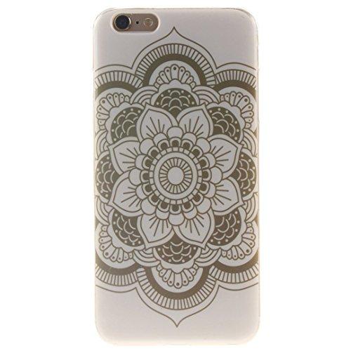 Xf-fly® iPhone 6 / 6S Hülle mit TPU Silikon Material und Retro Farblich Muster Schutzhülle Handytasche für Apple iPhone 6 / 6S(4.7 Zoll) P-12
