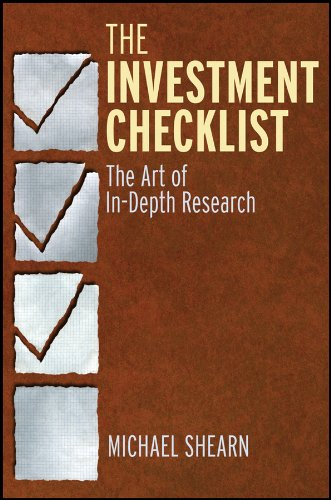The Investment Checklist: The Art of In-Depth Research por Michael Shearn