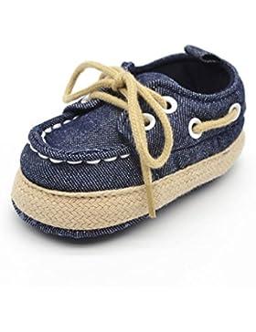 Zapatos de bebé,Tongshi Niña Bowknot zapatos de cuero zapatillas antideslizante suave niño único para 0-18 meses