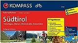 Südtirol - Vinschgau, Meran, Weinstraße, Dolomiten: Fahrradführer mit Routenkarten im optimalen Maßstab. (KOMPASS-Fahrradführer, Band 6700) - Wolfgang Heitzmann