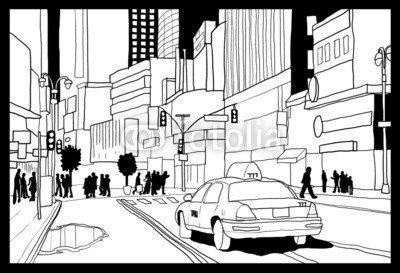 Manhattan Times Square (Alu-Dibond-Bild 130 x 90 cm: