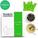 Best Organic Earl Grey Tea - Teabox Lemon Ginger Green Tea, 40g (16 Teabags) Review
