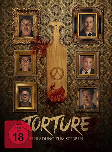 Torture - Einladung zum Sterben - limitiertes Mediabook (DVD + Blu-ray) inkl. Booklet